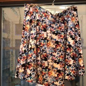 Target Xhilaration skirt XXL beautiful colors